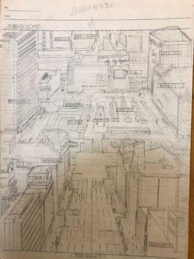 架空都市計画 父 地図 才能