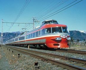 (参考)ロマンスカーNSE(3100形/1963〜1999年)