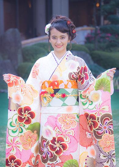 オスカープロモーション 晴れ着撮影会 岡田結実