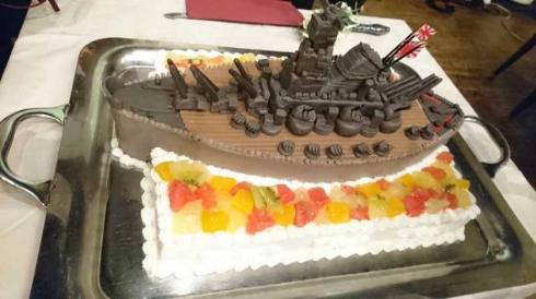 結婚式 ケーキ 大和 艦これ