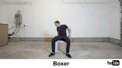 座り方 50種類 ストップモーションアニメーター 動画