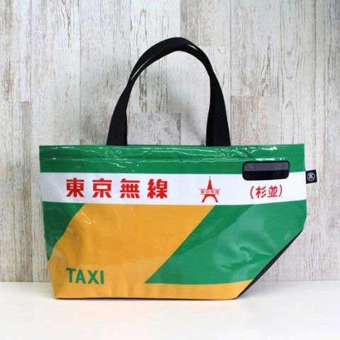 TAXIES トートバッグ タクシー 乗降トア
