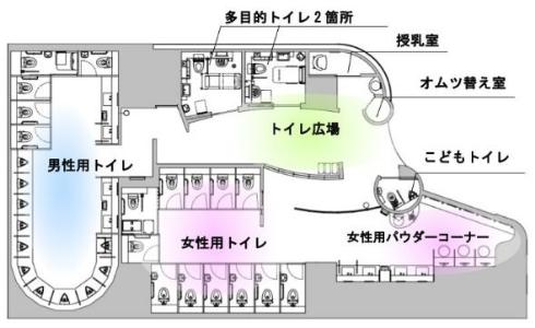 小田急新宿駅 トイレリニューアル 大型荷物 一時保管 装置 バゲッジポート