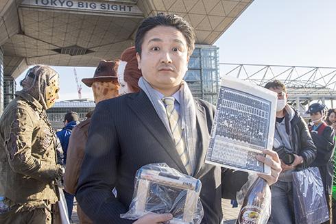 コミックマーケット93 C93 コスプレ コスプレイヤー 貴乃花親方