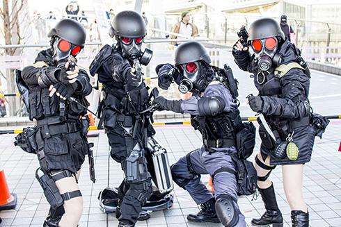 コミックマーケット93 C93 コスプレ コスプレイヤー ガスマスク