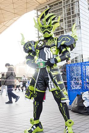 コミックマーケット93 C93 コスプレ コスプレイヤー 仮面ライダーエグゼイド 仮面ライダークロノス