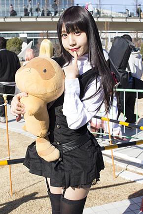 コミックマーケット93 C93 コスプレ コスプレイヤー 妖狐×僕SS 白鬼院凜々蝶