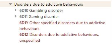 ゲーム障害 ICD