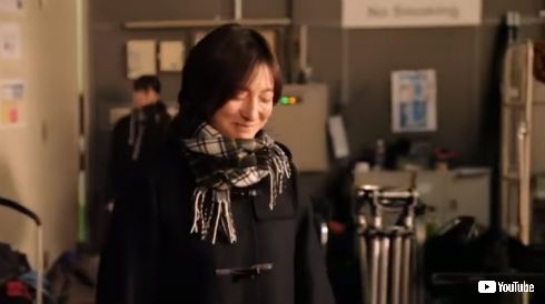 広末涼子 女子高生 学生服 CHINTAI CM メイキング