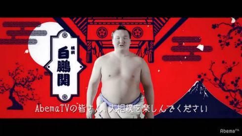 相撲 AbemaTV 白鵬 鶴竜 稀勢の里