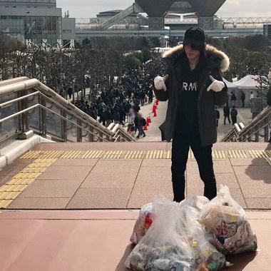 コミケ ごみ拾い 伊藤新