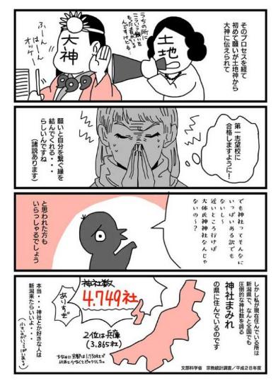 氏神 神社 探した レポ 漫画