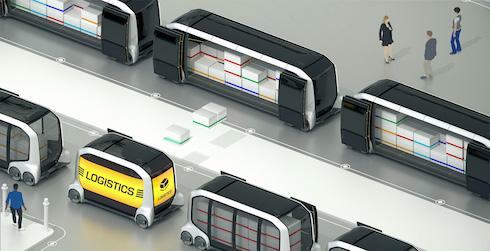 e-Palette トヨタ 自動運転 CES2018