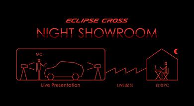 三菱自動車 NIGHT SHOWROOMの仕組み