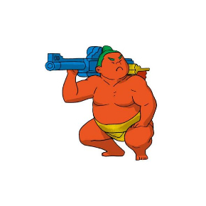 THE 相撲ウォリアーズ 力士 武装 カプセルトイ フィギュア