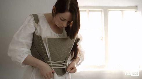 18世紀 働く女性 ファッション 資料