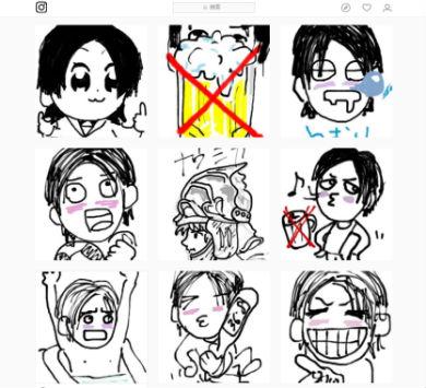 ポプテピピック GLAY TERU イラスト テレビアニメ 大川ぶくぶ 竹書房