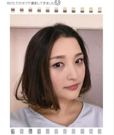 石川梨華 ショートボブ かわいい モーニング娘。