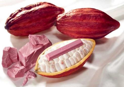 ルビーチョコレート ネスレ キットカット ピンク色