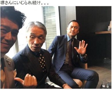 高橋克典 堺正章 渡辺謙 ケイダッシュ 新年会