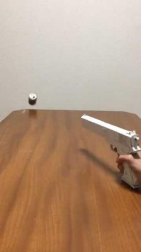 おもちゃ 拳銃 紙 工作 鉄砲