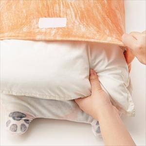コーギーのおなかぽよぽよ枕カバー