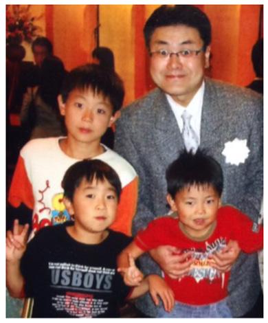 菅田将暉 中学生 父