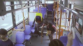バスあるある「お年寄りをいたわる」