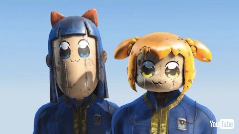 ポプテピピック Fallout4 MOD