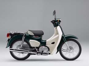 スーパーカブ50(タスマニアグリーンメタリック)