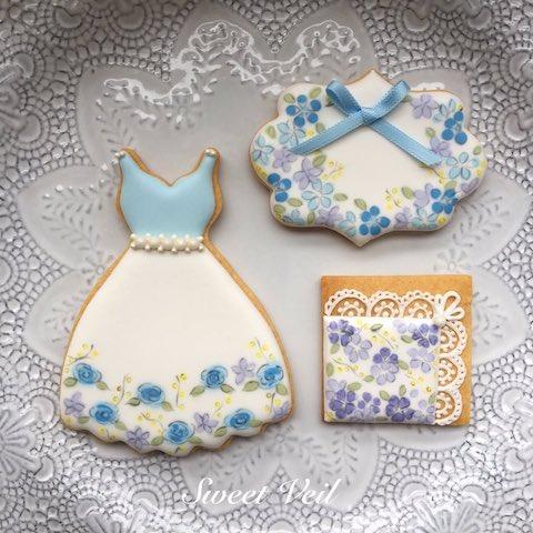 アイシングクッキー maiko 小花柄