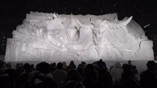 さっぽろ雪まつりファイナルファンタジー
