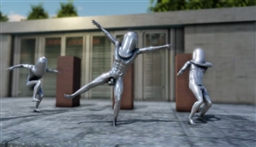 五輪の謎オブジェ「モルゲッソヨ」にネット民熱狂 イラストやアスキーアート、ついには3DCGアニメ化を果たす