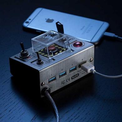 自爆スイッチ USBハブ