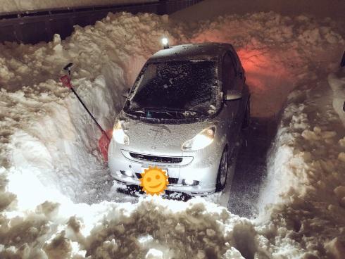 雪かき 車 福井