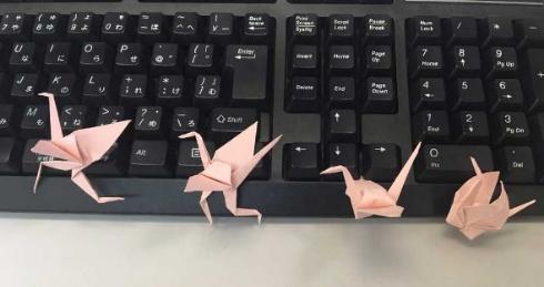 折り鶴 進化 折り紙