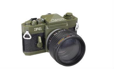 Canon F-1 OLIVE DRAB