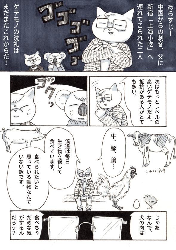 チョーヒカル ゲテモノ 犬