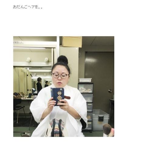江上敬子 ニッチェ 髪形