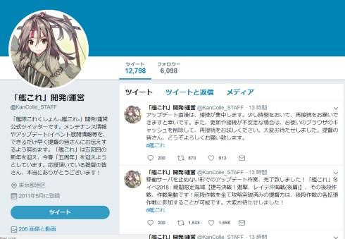 艦これ 公式 twitter 凍結 dmca