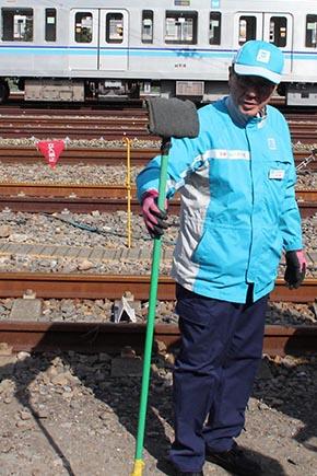清掃業務を統括するメトロゼルビスの松村所長