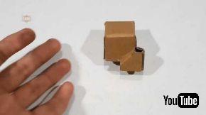ダンボール ルービックキューブ 製作 動画 テンプレート