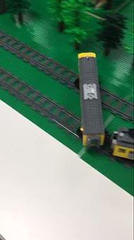 電車でD 複線ドリフト レゴ