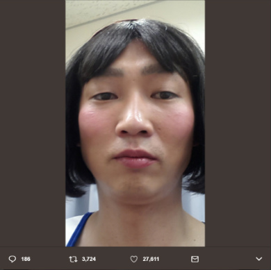 NON STYLE 石田明 女装 たんぽぽ川村
