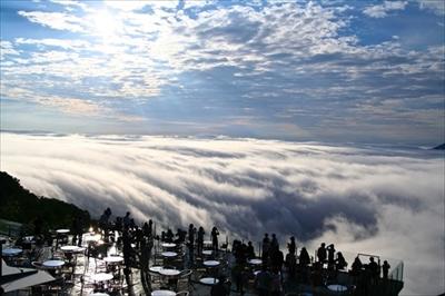 星野リゾートトマム雲体験