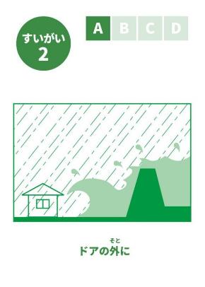 このつぎなにがおきるかな? 防災カードゲーム 国土交通省 津波 水害