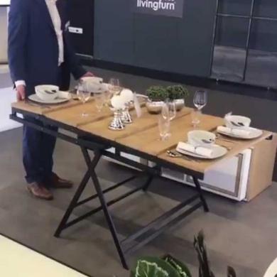 テーブル 棚 変形 EVE collection ドイツ