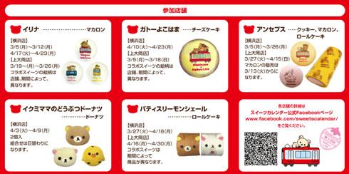 京急 久里浜駅 リラックマ 商品のイメージ