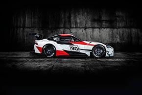 GR Supra Racing Concept(サイド)