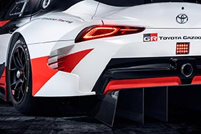 GR Supra Racing Concept(ディフューザー部)